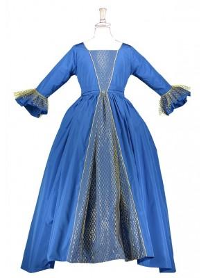 Queen Victoria (Blue)
