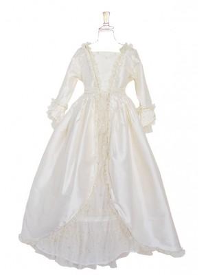 Marie-Antoinette à Versailles Soie Blanche