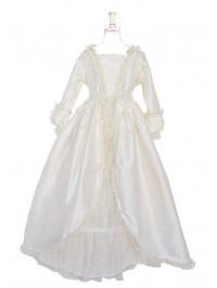 Marie-Antoinette at Versailles White Silk