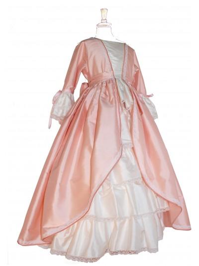 Marie-Antoinette soie rose