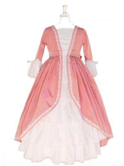 Marie-Antoinette à Versailles vieux rose