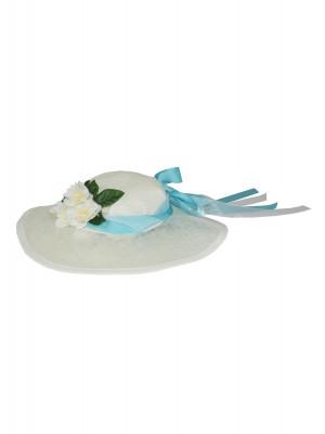 Chapeau Marquise Turquoise