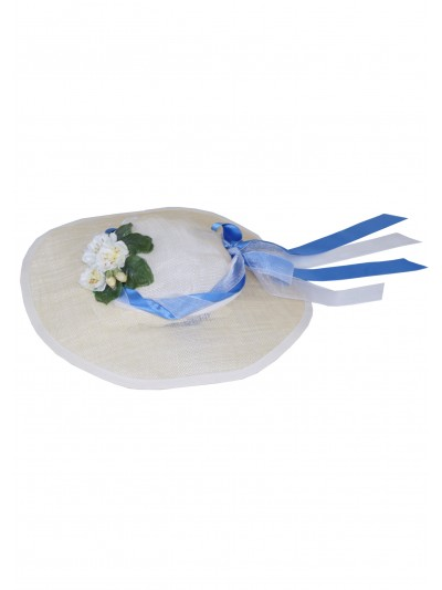 Chapeau Marquise Bleu