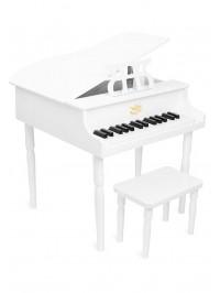 White Versailles grand Piano