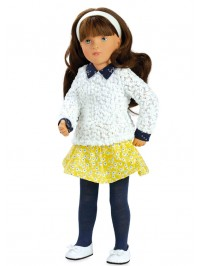 Dark-haired doll
