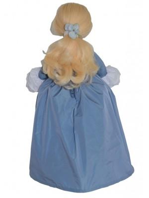 Marie-Antoinette doll gown