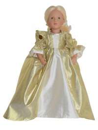 Sunshine doll gown