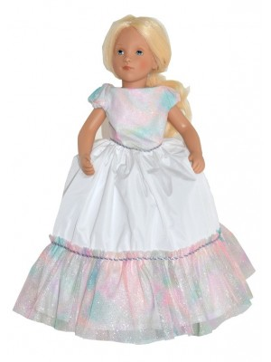 Unicorn doll gown