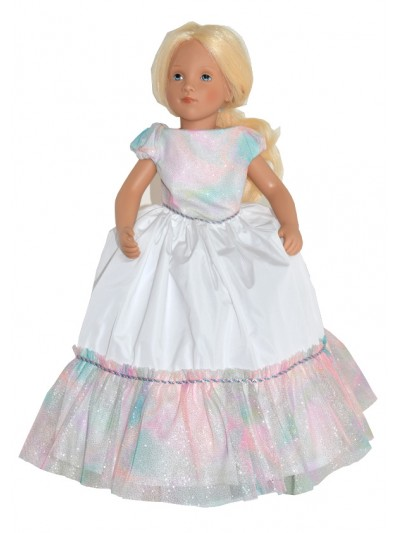 Unicorn doll gown