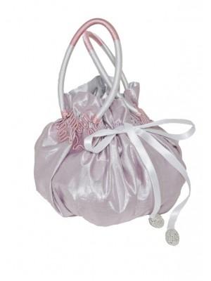 Pink Lamé Princess bag