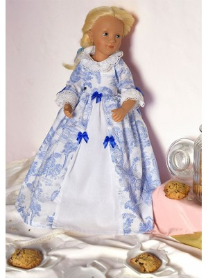 Marquise of Jouy doll gown