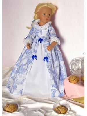 Robe de Poupée Marquise de Jouy