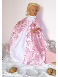 Marquise of Trianon doll gown